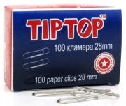 КЛАМЕРИ TIP TOP 28мм 100бр/кут. 10кут./стек