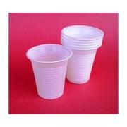 Чаши за еднократна употреба 160мл. Ф70мм Бели 100бр./пак.