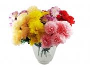 БУКЕТЧЕ 7цветчета МИНИ КАРАМФИЛЧЕ с клонка цветчета 30см