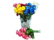 БУКЕТЧЕ 12цветчета  с клонка зеленина  30см