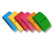 ГУМА ПЛАСТИЧНА 6цвята 4х1,7см K-I-N 24бр./картон